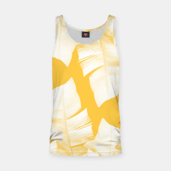Miniature de image de Tropical Yellow Banana Leaves Vibes #1 #decor #art  Muskelshirt , Live Heroes
