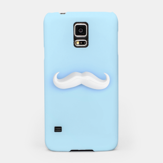 Thumbnail image of White Mustache Samsung Case, Live Heroes
