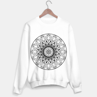 Miniaturka Black and White Mandala II Sweater regular, Live Heroes