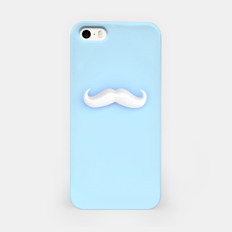 Thumbnail image of White Mustache iPhone Case, Live Heroes