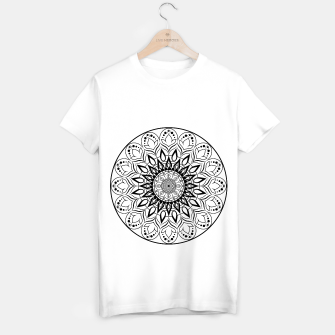 Miniaturka Black and White Mandala II T-shirt regular, Live Heroes