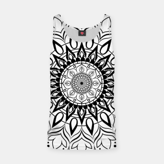 Miniaturka Black and White Mandala II Tank Top, Live Heroes