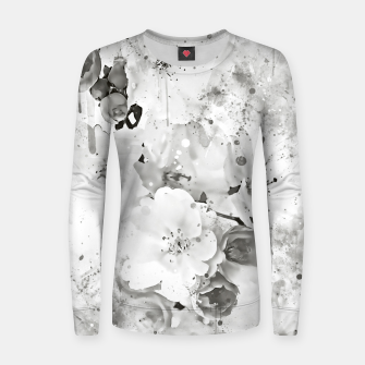 Thumbnail image of japanese cherry blossom wsbw Women sweater, Live Heroes