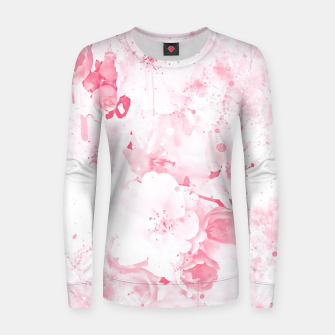 Thumbnail image of japanese cherry blossom wspw Women sweater, Live Heroes