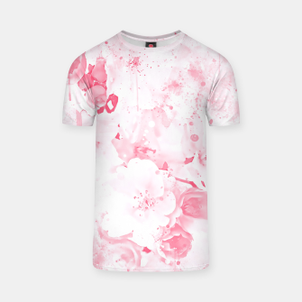 Thumbnail image of japanese cherry blossom wspw T-shirt, Live Heroes