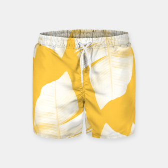 Miniaturka Tropical Yellow Banana Leaves Vibes #1 #decor #art  Badeshorts, Live Heroes