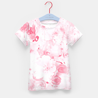 Thumbnail image of japanese cherry blossom wspw Kid's t-shirt, Live Heroes