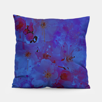 japanese cherry blossom wsml Pillow thumbnail image