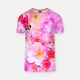 Thumbnail image of japanese cherry blossom wsstd T-shirt, Live Heroes