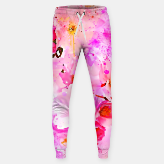 Thumbnail image of japanese cherry blossom wsstd Sweatpants, Live Heroes
