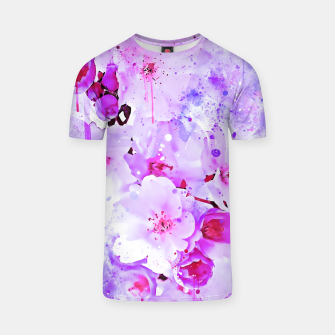 Thumbnail image of japanese cherry blossom wspb T-shirt, Live Heroes