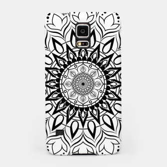 Miniaturka Black and White Mandala II Samsung Case, Live Heroes