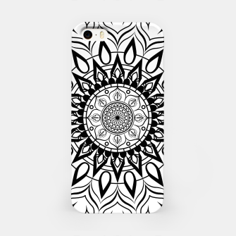 Miniaturka Black and White Mandala II iPhone Case, Live Heroes