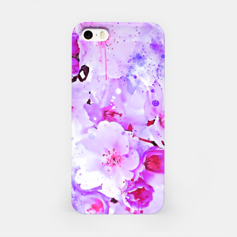 Miniature de image de japanese cherry blossom wspb iPhone Case, Live Heroes