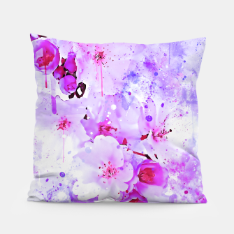 Thumbnail image of japanese cherry blossom wspb Pillow, Live Heroes