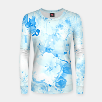 Thumbnail image of japanese cherry blossom wswb Women sweater, Live Heroes