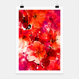 Thumbnail image of japanese cherry blossom wslsb Poster, Live Heroes