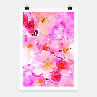 Thumbnail image of japanese cherry blossom wsstd Poster, Live Heroes