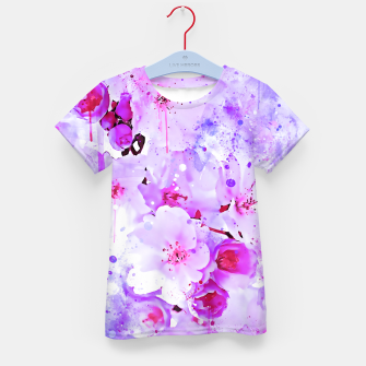 Thumbnail image of japanese cherry blossom wspb Kid's t-shirt, Live Heroes