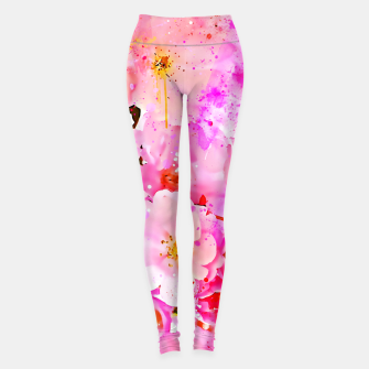 Thumbnail image of japanese cherry blossom wsstd Leggings, Live Heroes