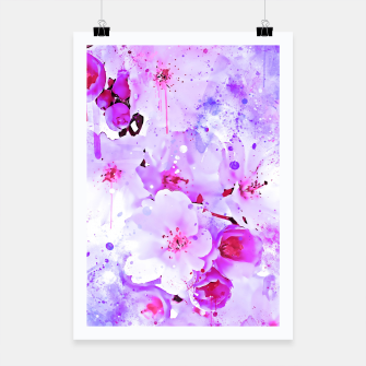Thumbnail image of japanese cherry blossom wspb Poster, Live Heroes