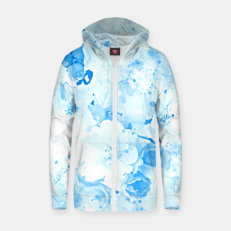 Thumbnail image of japanese cherry blossom wswb Zip up hoodie, Live Heroes