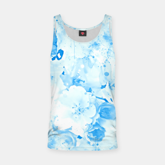 Thumbnail image of japanese cherry blossom wswb Tank Top, Live Heroes