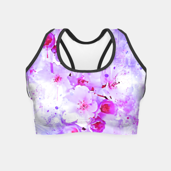 Thumbnail image of japanese cherry blossom wspb Crop Top, Live Heroes
