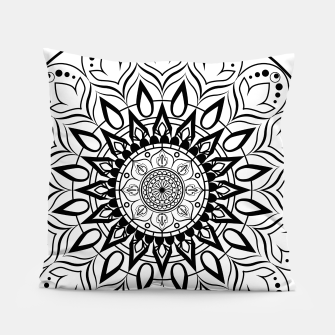 Miniaturka Black and White Mandala II Pillow, Live Heroes