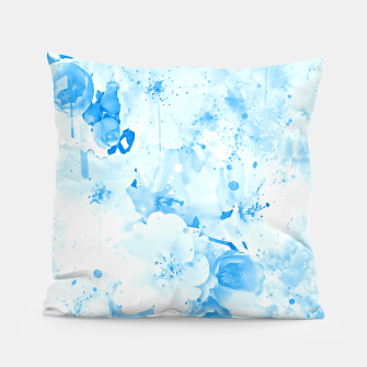 Thumbnail image of japanese cherry blossom wswb Pillow, Live Heroes