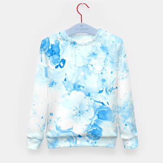 Thumbnail image of japanese cherry blossom wswb Kid's sweater, Live Heroes