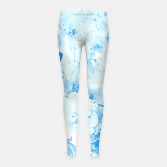 Thumbnail image of japanese cherry blossom wswb Girl's leggings, Live Heroes