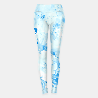 Thumbnail image of japanese cherry blossom wswb Leggings, Live Heroes