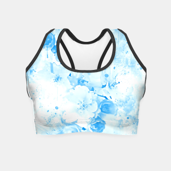 Thumbnail image of japanese cherry blossom wswb Crop Top, Live Heroes