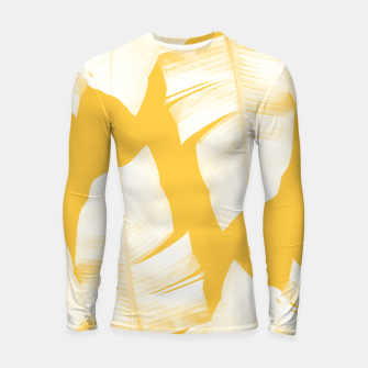 Miniature de image de Tropical Yellow Banana Leaves Vibes #1 #decor #art  Longsleeve rashguard, Live Heroes