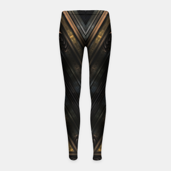 Thumbnail image of WPO-M3I90O270 Mech Tech Girl's leggings, Live Heroes