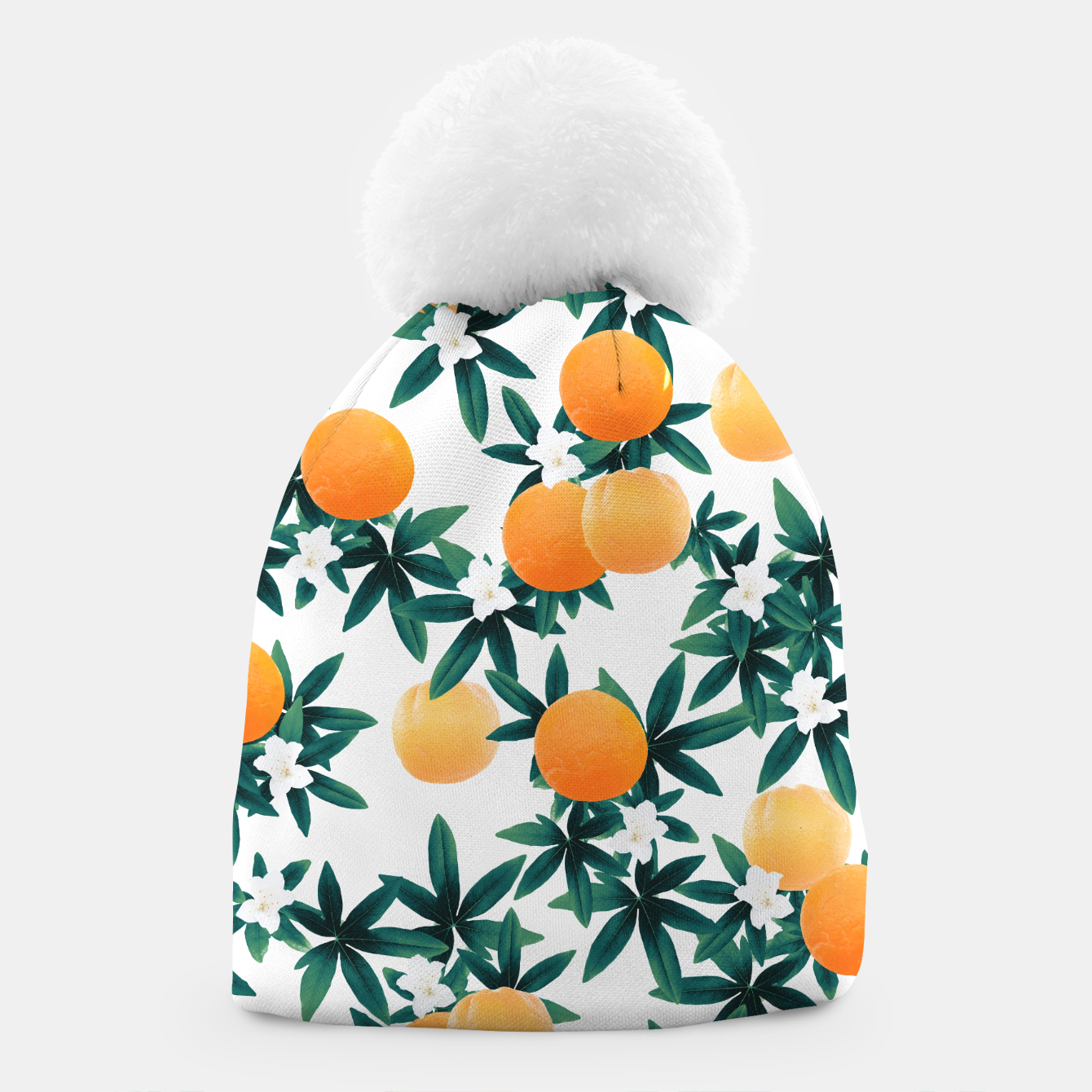 Zdjęcie Orange Twist Flower Vibes #2 #tropical #fruit #decor #art Mütze - Live Heroes