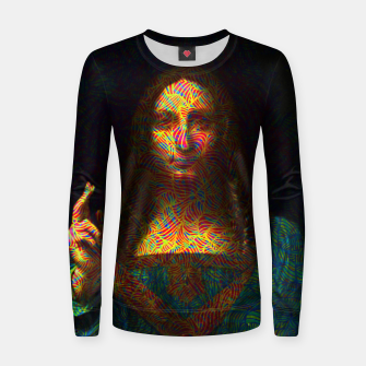 Thumbnail image of Salvator Mundi Women sweater, Live Heroes