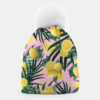 Miniaturka Summer Lemon Twist Jungle #6 #tropical #decor #art Mütze, Live Heroes