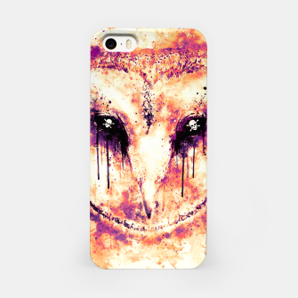 Thumbnail image of barn owl wsls iPhone Case, Live Heroes