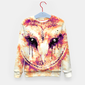 Thumbnail image of barn owl wsls Kid's sweater, Live Heroes