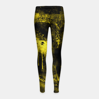 Thumbnail image of barn owl wsdbi Girl's leggings, Live Heroes