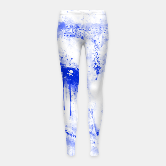 Thumbnail image of barn owl wsdb Girl's leggings, Live Heroes