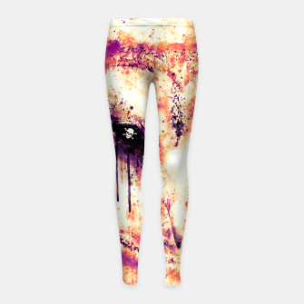 Thumbnail image of barn owl wsls Girl's leggings, Live Heroes