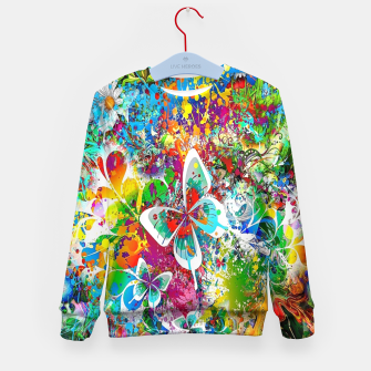 Thumbnail image of краски Kid's sweater, Live Heroes