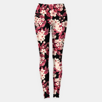Pisardi Plum Tree Leggings Bild der Miniatur