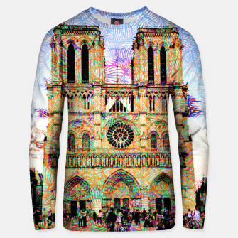 Thumbnail image of notre dame Unisex sweater, Live Heroes