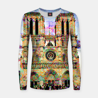 Thumbnail image of notre dame Women sweater, Live Heroes
