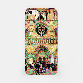 Thumbnail image of notre dame iPhone Case, Live Heroes