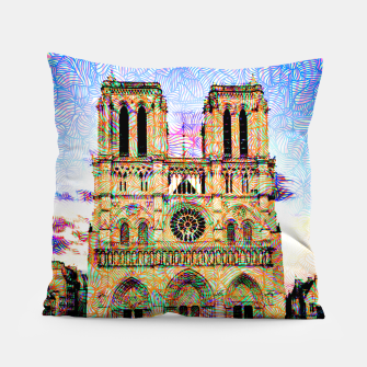 Thumbnail image of notre dame Pillow, Live Heroes